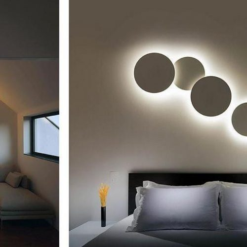 Vibia Light Puck Wall Art