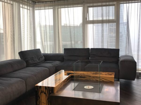 Наше столярное производство (стол) (объект Москва Сити)